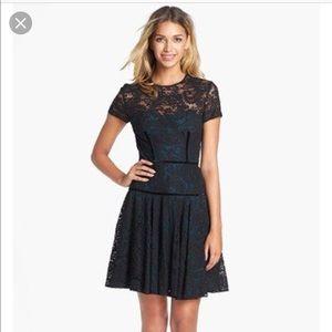 Jill Stuart Lace Fit Flare Dress